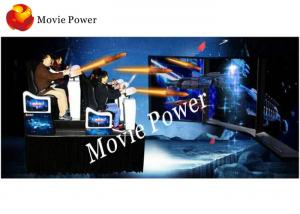 China Kino Vivid Scene T-MAX 9D Action Cinemas with Back poking / Air injection Chair Effects supplier