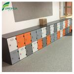 phenolic gym changing room lockers with benches locker room