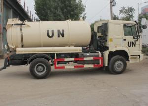 China SINOTRUK HOWO Sewage Suction Truck 10000L LHD 4X2 , Liquid Waste Trucks on sale