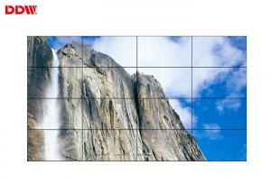 China VGA Input Video Wall Lcd Screens , High Gamut Digital Wall Display Systems on sale