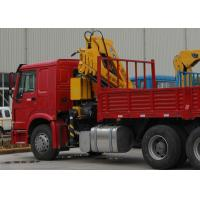 Durable XCMG Knuckle Boom Truck Mounted Crane 6300kg Safety For Mining Industry