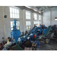 Continuous Waste Tire Recycling Machines For Rubber Powder Plant , Automatic Tire Recycling Line