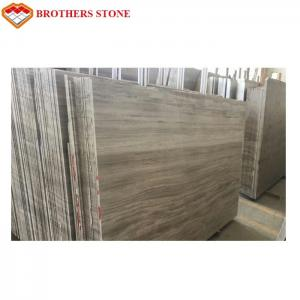 China China white wood long strip wall and floor marble tiles on sale
