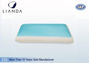 China Forever Cooling Gel Memory Foam Pillow Wave Shape CA117 / BS5852 on sale