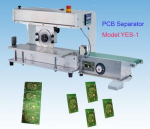 China Blade Moving PCB Depanelizer With Conveyor Belt PCB Assembly on sale