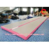 Inflatable Air Tumbling Track Mattress / Cheerleading Club Inflatable Tumble Track