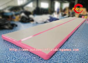 China Inflatable Air Tumbling Track Mattress / Cheerleading Club Inflatable Tumble Track on sale