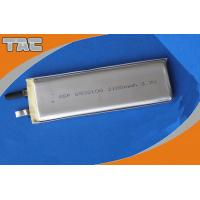GSP6532100 3.7V 2100mAh Lithium Ion Polymer Batteries Cells