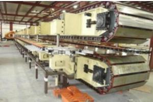 China PU Rock Wool Sandwich Panel Production Line Precision Double Belt Conveyor Lamination Machine on sale