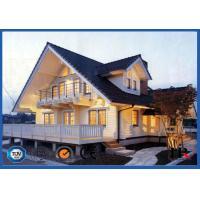 Hot Dipped Galvanized Light Steel Villa / Modern Prefab Houses For Hotel