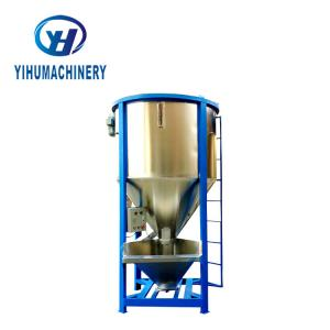 China 3000 Kg 5000kg Industrial Blender Machine Vertical Plastic Raw Material Mixer on sale