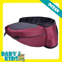 Popular Red Oxford baby hip seat carrier Multi - function Waist Stool
