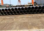 Tubulações de aço soldadas espiral de grande diâmetro para a tubulação de aço de dragagem da espiral do transporte da água do gás do projeto/óleo