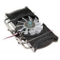 DC 12V Single Fan VGA Coolers with four Heat Pipes , 80X80X25mm Fan
