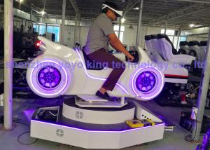 China Motorbike VR 9D Virtual Reality Simulator Racing Equipment  , Vr Motorcycle Games on sale