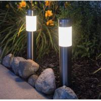 Modern Solar Bollard Lights / Stainless Steel Bollard Lights Motion Sensor For Walkway