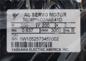 China Industrial Servo Motor Yaskawa SGMPH-02AAE41D AC Servo Motor Gearmotor Gear Motor 25:1 Ratio on sale