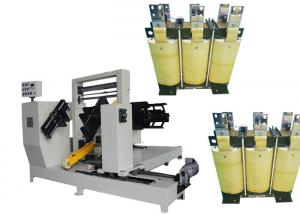 China Practical Simple Copper Or Aluminium Foil Winding Machine For Reactor on sale