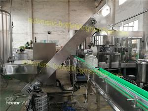 Quality 250 - 2000ml Water Bottle Filling Machine Mineral / Purified Water Making Machinery Plant for sale