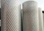 Stainless Steel Diamond Expanded Steel Mesh Iso 9001 Certificate For Air Filter