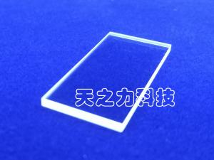 China H9/HV1800-2200 Sapphire Crystal Lens Cover Ground And Beveled Edge Finish on sale