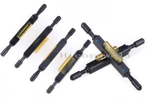 China Drop Cable Mechanical Bare Fiber Splicing Cold Connector For FTTH on sale