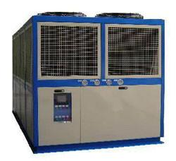 China Industrial Refrigerator Air Cooled Screw Chiller , CE Certificated on sale