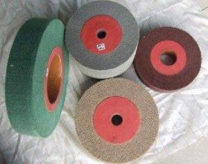China Carbide Sharpening Abrasive Flap Wheel on sale