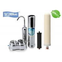 Household Ceramic Countertop Water Filter with 304 Stainless Steel Housing