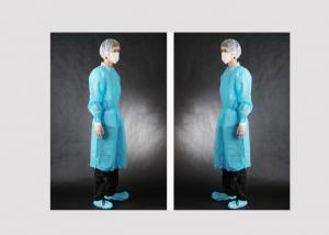 China Custom Size Disposable Medical Protective Apparel Dustproof Waterproof on sale