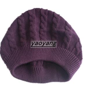 China fashion styles and high quality acrylic knitted hats FH043 on sale