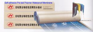 China Self-adhesive Pre-laid HDPE Waterproof Membrane on sale