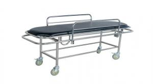 China Stainless Steel  Patient Transfer Trolley For Handicapped Medical Furniture on sale
