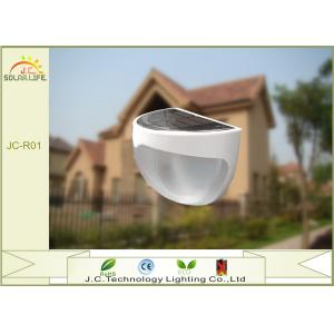 China Pathway Landscaping LED Solar Pillar Lights With 5V 60mA Polysilicon Panel on sale