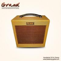 5F1A Fender Style Champ Classic A Handmade Tweed Guitar Amplifier Combo, 5W with Volume and Tone Control 1*10 Speaker