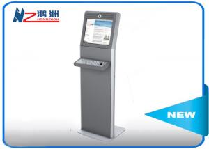 China All in one LED self service kiosk touch panel PC information kiosk promotional on sale