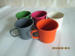China Eco Bamboo Fiber Dinnerware Camping Cup on sale