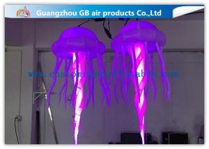China Durable Inflatable Medusa Air Acaleph / Multicolor Inflatable Sea Jelly on sale