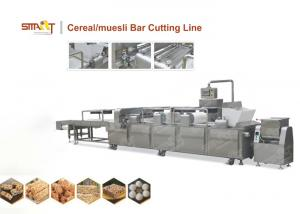 China EN Standard Cereal Bar Forming Machine / Granola Bar Machine Stainless Steel Made on sale