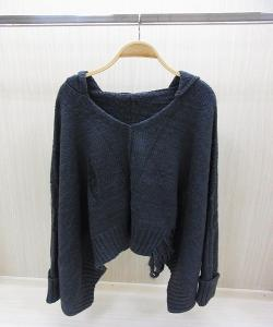 China Hooded Top Knit Womens Turtleneck Sweaters Pullover Thin Knitwear on sale