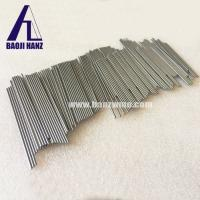 China China hot new sale tungsten rod bar polished surface high temperature resistant on sale