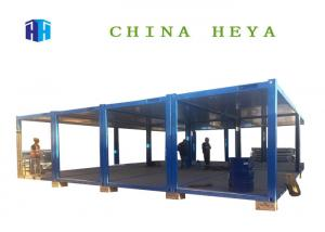 China Fireproof Flat Pack Office Buildings , Flat Pack 20 Ft Shipping Container Home on sale