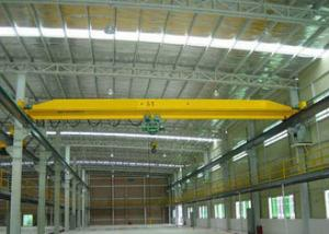 China 5 Ton 10 Ton Single Beam Overhead Crane Max Lifting Height 30m Electric Motors Driving on sale
