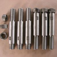 High Density high temperature 99.95% pure molybdenum bolts nuts fasteners