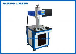 China Split Desk CO2 Fiber Laser Marking Machine For Metal Plastic Tag Key Chains Pen on sale