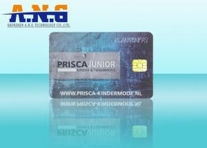 China Dual Interface / Combi Radio Frequency Identification Card Fm1208 Cpu on sale