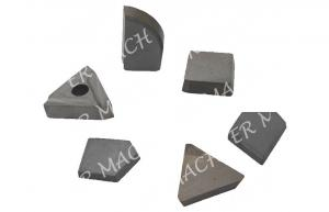China Virgin Raw Tungsten Carbide Tips Brazed On Machine For Cutting YG9C on sale