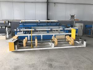 China Best price Diamond Shape Mesh Chain Link Fence Making Machine Mechanical Automatic Roll Wire Mesh India on sale
