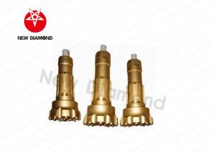 China Durable DTH Water Well Drill Bits , 2 Air Holes Rock Drill Head Wear Resistance on sale