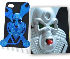 China Harley Davidson iphone 4S Protective Cases Hard PC Skull Case on sale